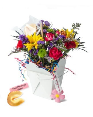 Birthday Blast Lucky You Flower Arrangement