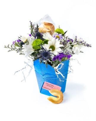 Hanukkah Lucky You Flower Arrangement