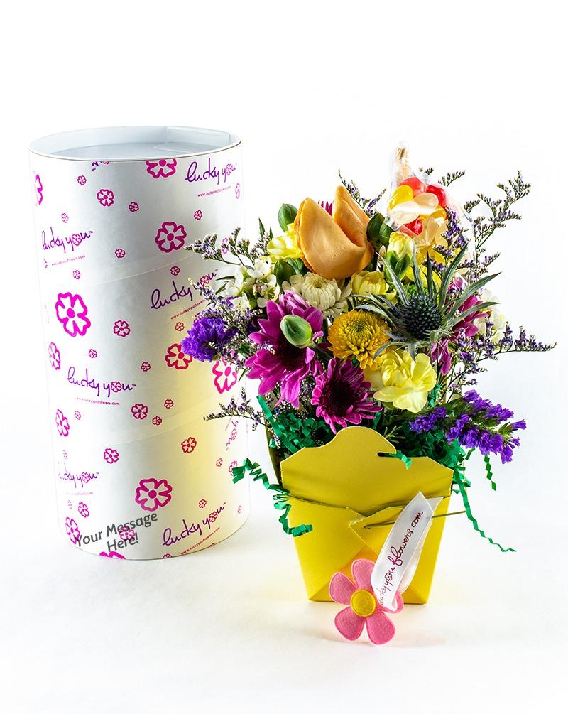 Easter Lucky You Flower ArrangementEaster Lucky You Flower Arrangement