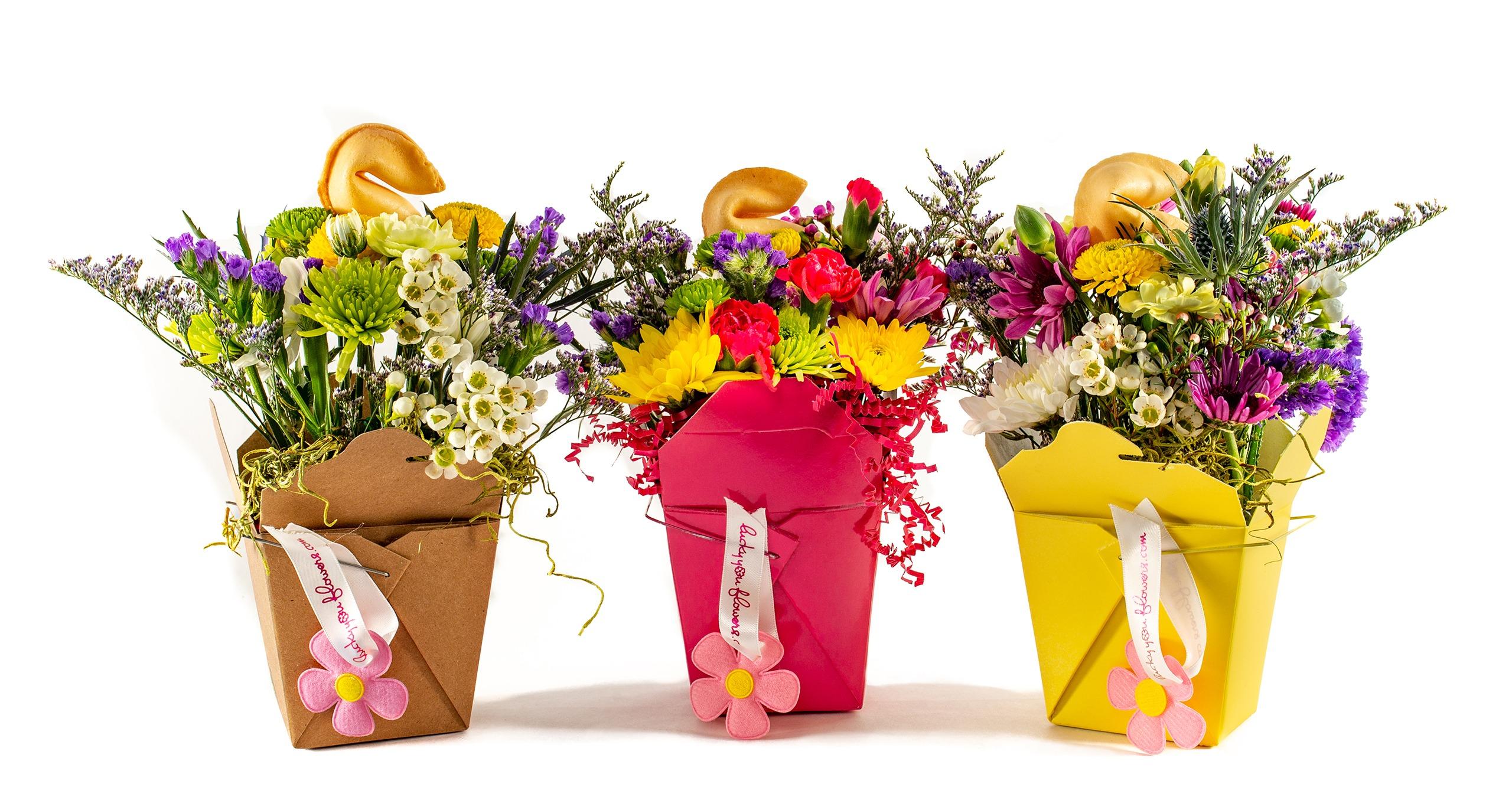 Lucky You Flower Arrangement Subscription