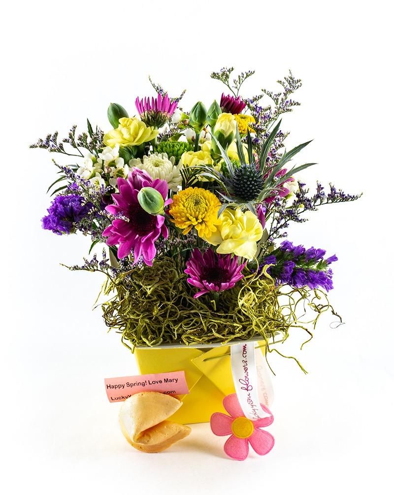 Spring Lucky You Flower Arrangement