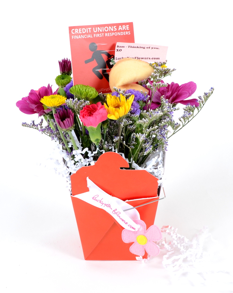 Lucky You Flowers Financial First Responder