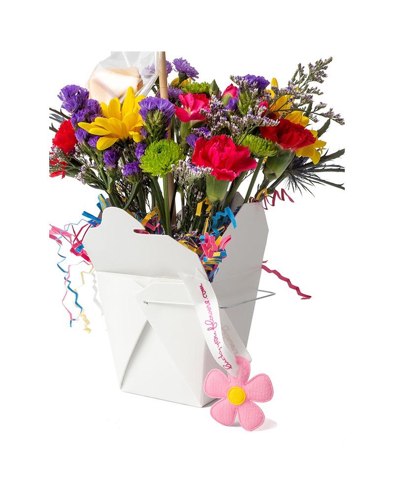 Birthday Blast Lucky You Flower Arrangement