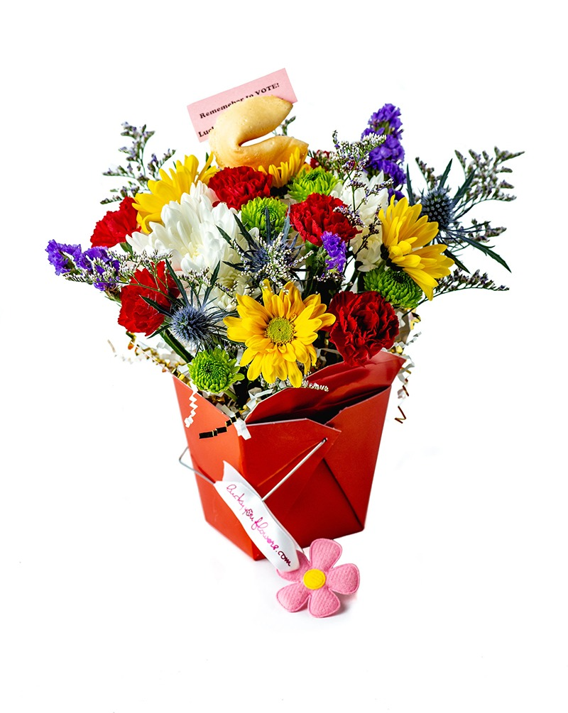 The Patriot Lucky You Flower Arrangement