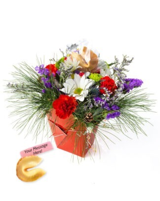 Winterfest Lucky You Flower arrangement