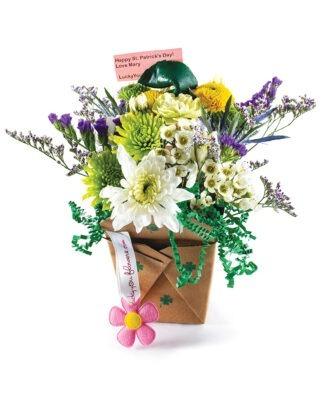 St. Patricks Day Get Lucky - Lucky You Flower Arrangement