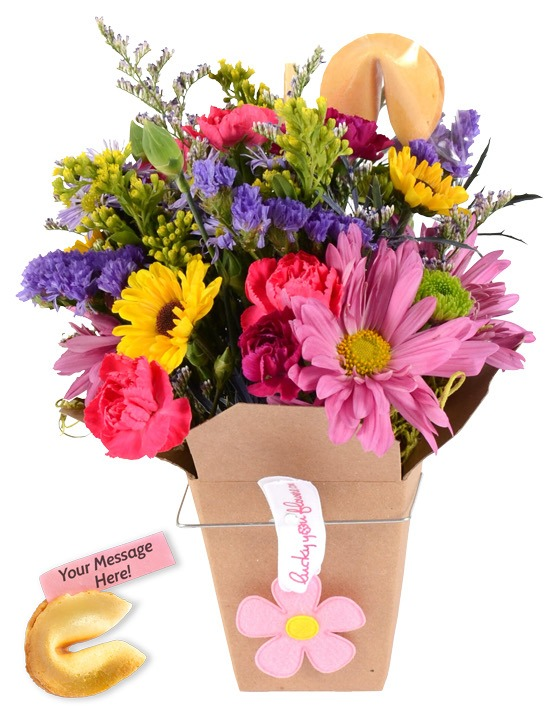 Mother's Day Lucky You Flower Arrangement