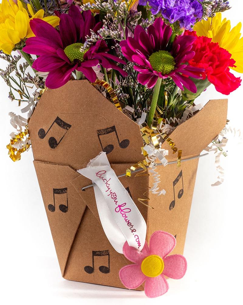 Arts Alive – Performing Arts of NECT flower arrangement
