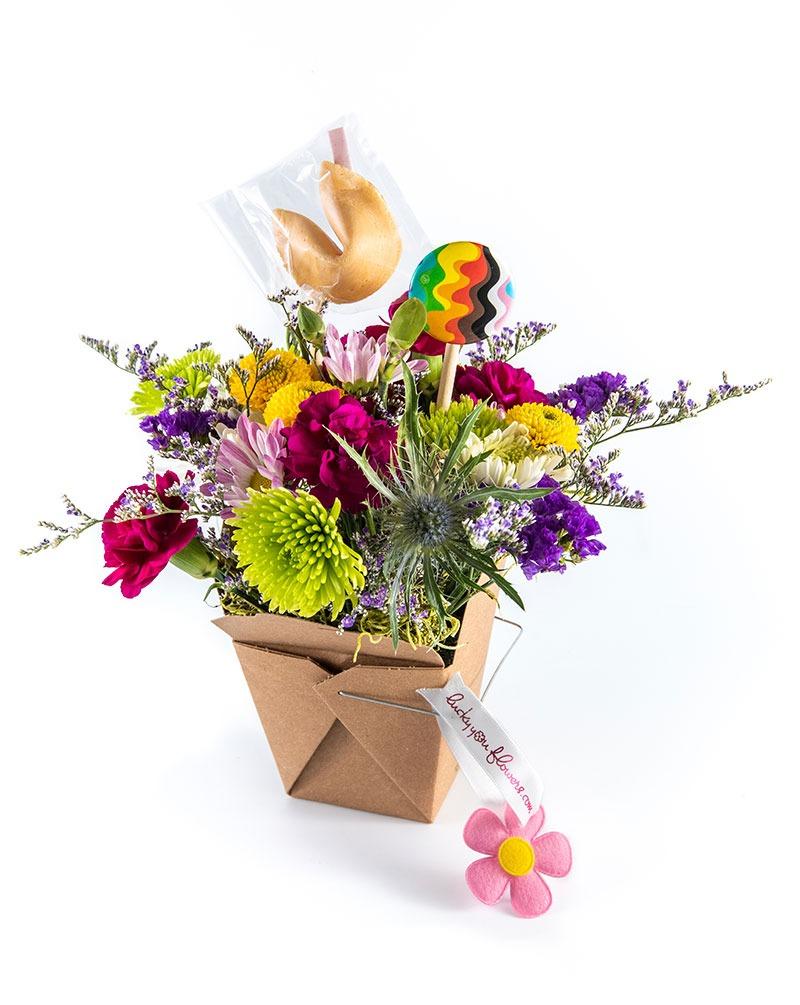Lucky You Pride Floral Arrangement